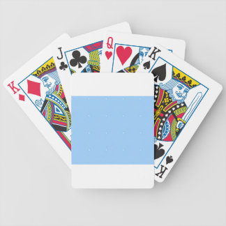 Sky Blue1 Bicycle Playing Cards
