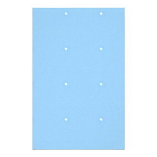 Sky Blue1 Personalised Stationery
