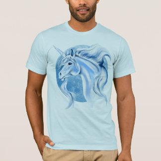 Sky Blue and White Unicorn Shirts