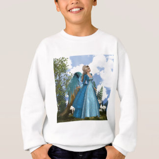 Sky Blue Angel Sweatshirt