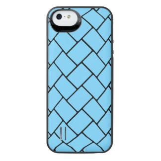 Sky Blue Basket Weave 2 iPhone 6 Plus Case