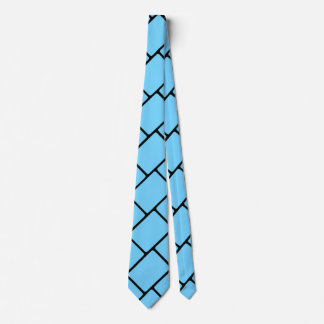 Sky Blue Basket Weave 2 Tie
