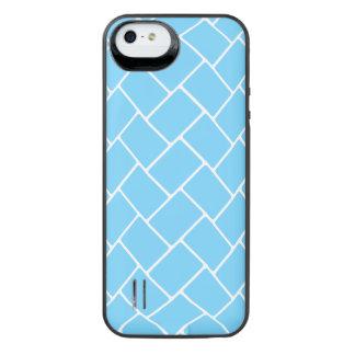 Sky Blue Basket Weave iPhone 6 Plus Case