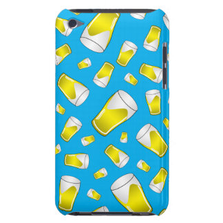 Sky blue beer pattern barely there iPod covers