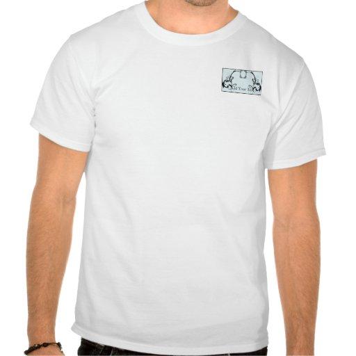 Sky Blue & Black Monogram Filigree Shirts