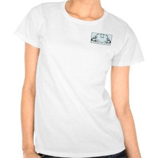 Sky Blue & Black Monogram Filigree Shirt
