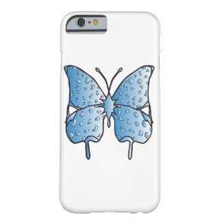 Sky Blue butterfly phone case