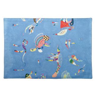 Sky Blue by Wassily Kandinsky Placemat