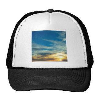Sky Blue Cast Clouds Cap