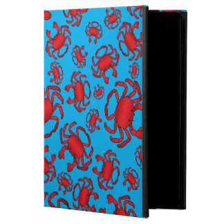 Sky blue crab pattern powis iPad air 2 case