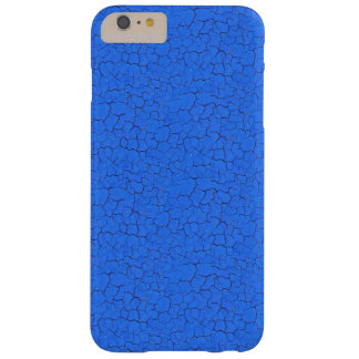 Sky Blue Cracked paint Barely There iPhone 6 Plus Case