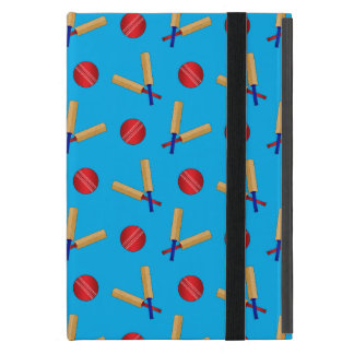 Sky blue cricket pattern case for iPad mini