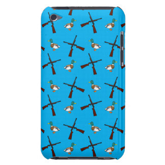 Sky blue duck hunting pattern iPod touch cases