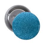 Sky blue glitter pinback buttons