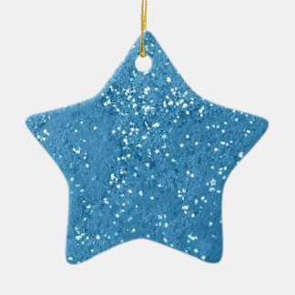Sky Blue Gravel Christmas Ornament