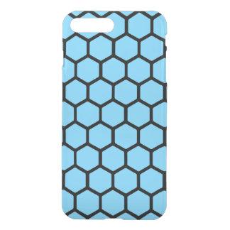 Sky Blue Hexagon 4 iPhone 7 Plus Case