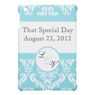 Sky Blue Ornate Wedding Cover For The iPad Mini