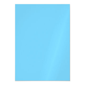 Sky Blue Solid Color Magnetic Invitations