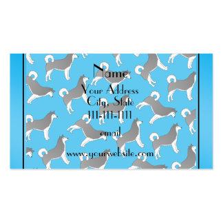 sky blue stripe black stripe.png pack of standard business cards