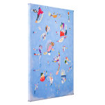 Sky Blue | Wassily Kandinsky Gallery Wrap Canvas