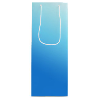 Sky Blue Wine Gift Bag