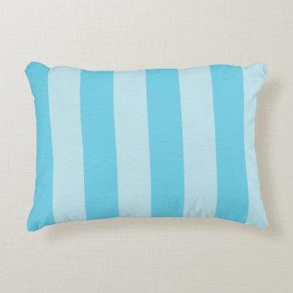 Sky Blue Zen Stripes Decorative Cushion