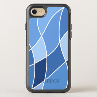 Sky blues - stylish trendy and simple design OtterBox symmetry iPhone 8/7 case