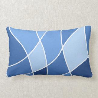 Sky blues – trendy stylish design lumbar cushion