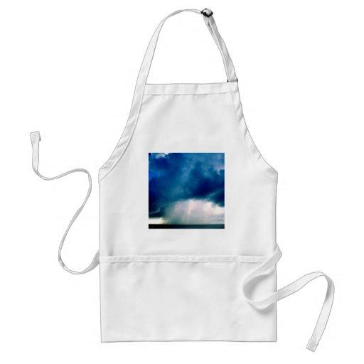 Sky Cloudburst Apron
