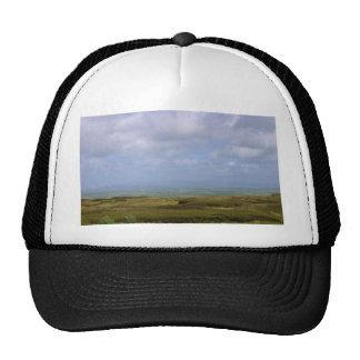 Sky Clouds Peat Trucker Hats