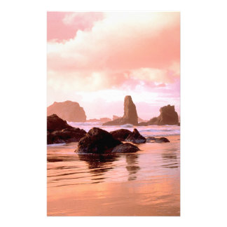 Sky Coastal Sunset Stationery