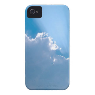Sky Crystal Rays iPhone 4 Case-Mate Cases
