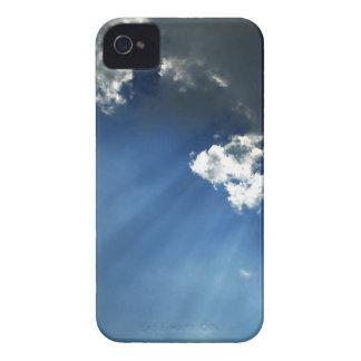Sky Dark Glow Clouds iPhone 4 Covers