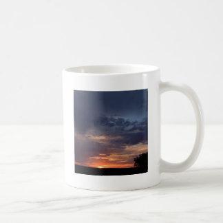 Sky Dark Land Night Coffee Mugs