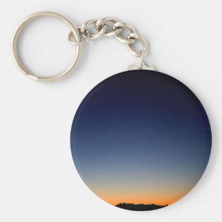 Sky Darkness Above Key Chain