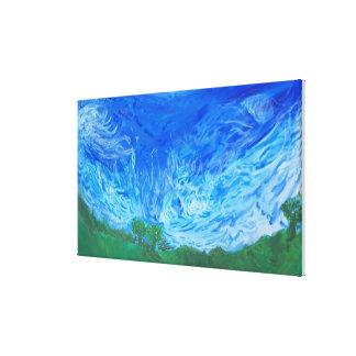 Sky Dish (2004) Canvas Print