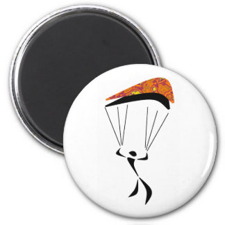 SKY DIVE CANYONS 6 CM ROUND MAGNET