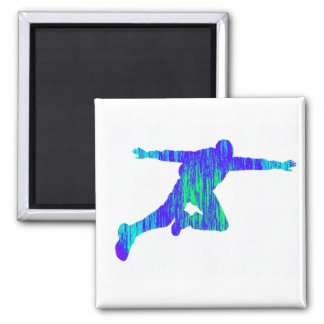 SKY DIVE INTRIGUE SQUARE MAGNET