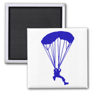 SKY DIVE KENTUCKY SQUARE MAGNET