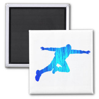 SKY DIVE MAIN SQUARE MAGNET