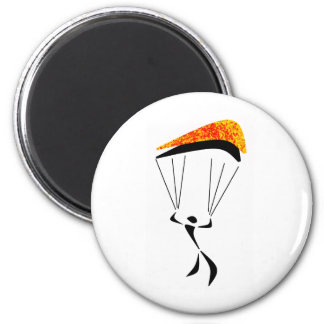 SKY DIVE STAGE 6 CM ROUND MAGNET