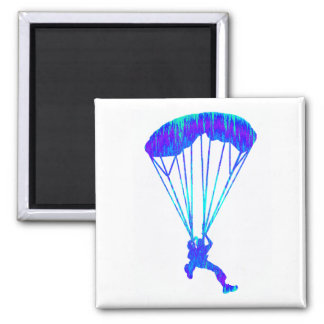 SKY DIVE STEADY SQUARE MAGNET