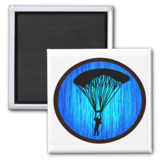 SKY DIVE TRUTH SQUARE MAGNET