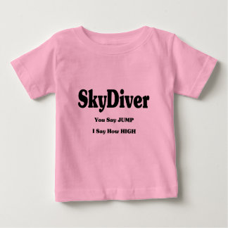 Sky Diver Baby T-Shirt