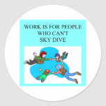 sky diver gifts stickers
