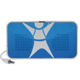 Sky Diver Icon Travel Speakers