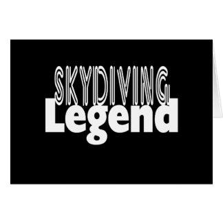 Sky Diving Legend Card