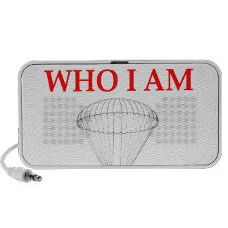 sky diving mini speaker