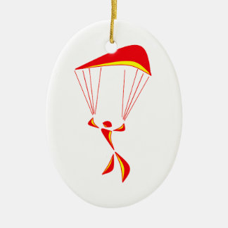 SKY DIVING PICK CHRISTMAS ORNAMENT