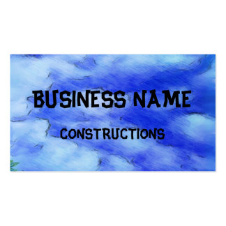 sky drawing business card